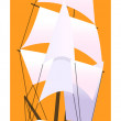 Sailing ship — Stock Vector #13431522