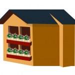Vector house — Stock Vector #13431698