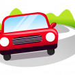 Vector icon car — Stock Vector