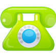 Vector icon telephone — Stock Vector