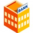 Royalty-Free Stock Vector Image: Vector icon bank