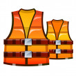 Vector icon safety vest — Stock Vector #13432780