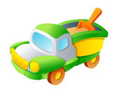 Toy car — Stock Vector