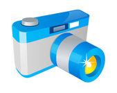 Vector icon camera — Stock Vector