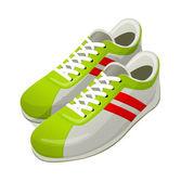 Vector icon shoes — Stock Vector
