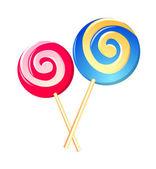 Vector icon lollipop — Stock Vector