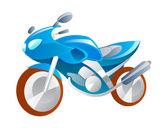 Vector icono moto — Vector de stock