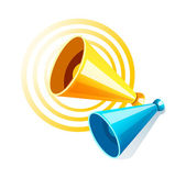 Vector icon loudspeaker — Stock Vector