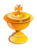 Vector icon communion — Stock Vector