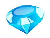 Vector icon diamond — Stock Vector