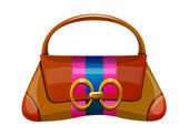 Vector icon purse — Stock Vector