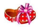 Vector icon gift box — Stock Vector