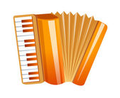 Vector icon accordion — Stock Vector