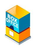 Vector icon box office — Stock Vector