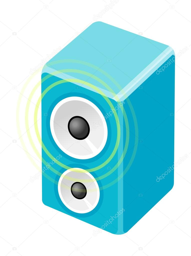 Vector  speaker — Stock Vector #13430259