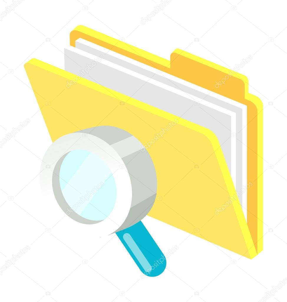 Magnifying Glass — Stock Vector #13430357