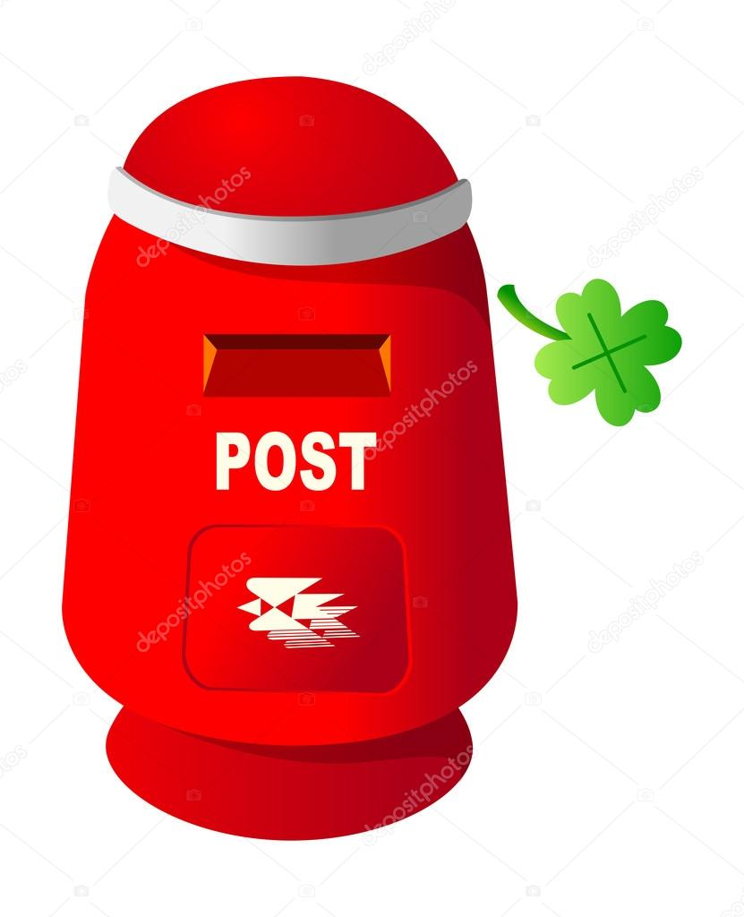 Vector postbox — Stock Vector #13430805