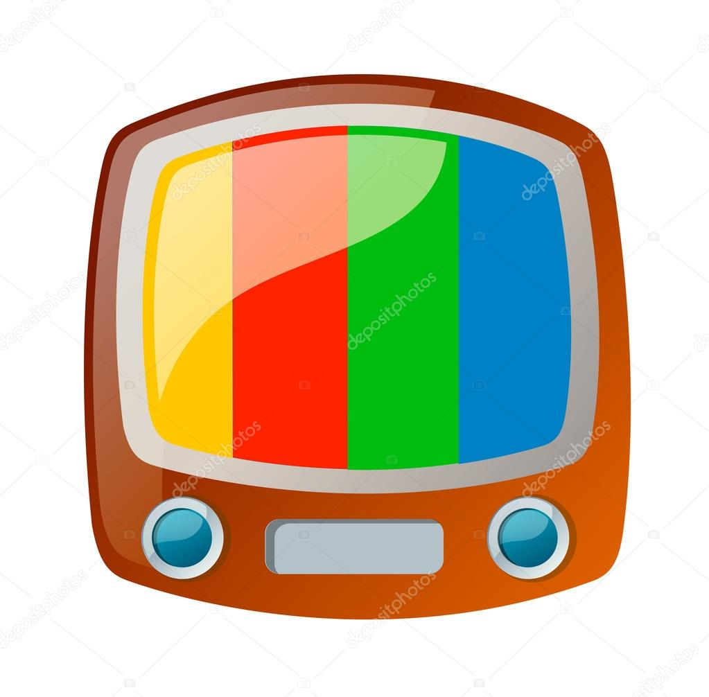 Vector icon television — Stock Vector #13432993