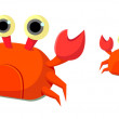 Royalty-Free Stock Vector Image: Icon crab