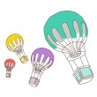 Royalty-Free Stock Imagem Vetorial: Vector balloons
