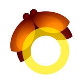 Vector icon firefly — Stock Vector