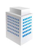 Vector icon building — Stock Vector