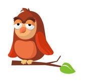 Vector icon owl — Stock Vector