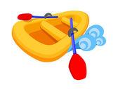 Vector icon boat — Stock Vector
