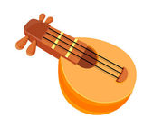 Vector icon string instrument — Stock Vector