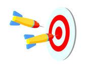 Ikonen dart — Stockvektor