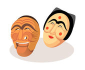 Icon mask — Stock Vector