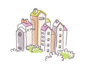 Vector building - architecture — Stock Vector