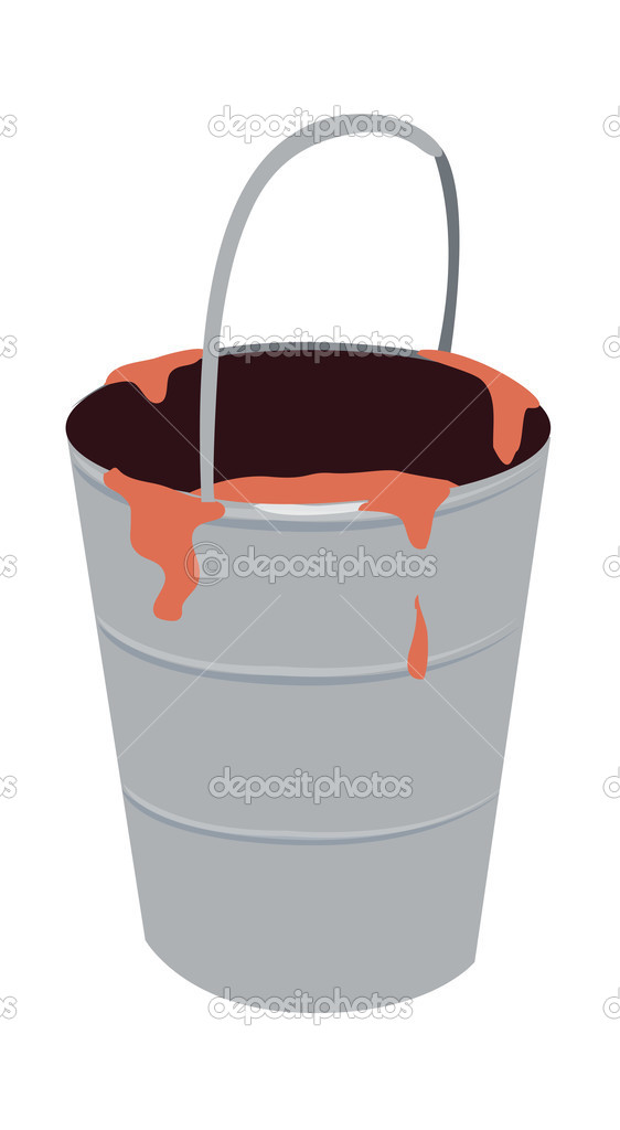 Vector icon bucket — Stock Vector #13444825
