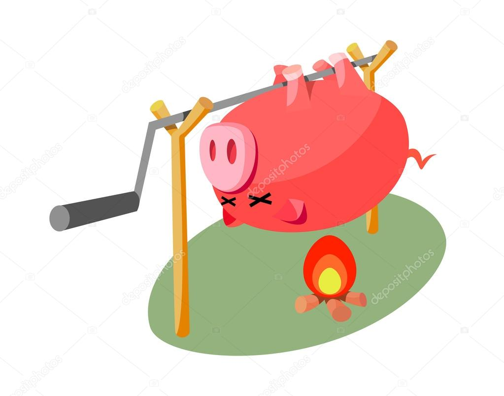 Icon barbecue — Stock Vector #13446842