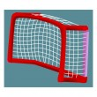 Hockey goal — Stock Vector