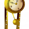 Stock Vector: Old clock