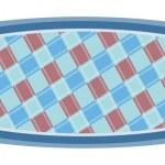Blue carpet — Stock Vector