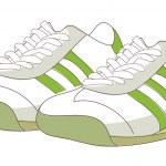 Постер, плакат: Sports shoes