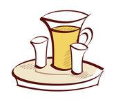 Bevanda rinfrescante — Vettoriale Stock