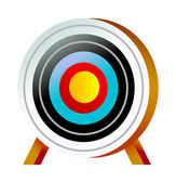 Colorful target — Stock Vector