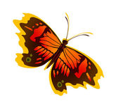 Beautiful butterfly — Stockvector