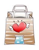 Fantastic shopping bag — Stock Vector