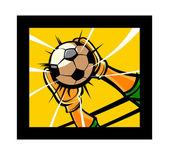 Soccer — Vector de stock