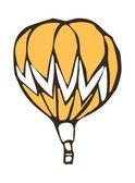 Yellow balloon — Stock Vector