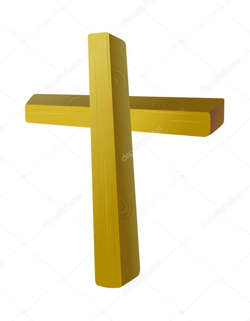 木制的十字架