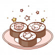Royalty-Free Stock Vektorgrafik: Cakes