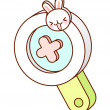 Magnifying glass — Stock Vector #13460524