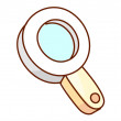 Magnifying glass — Stock Vector #13460580
