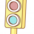 Stock Vector: traffic light&quot
