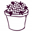 Flower pot - Stock Vector